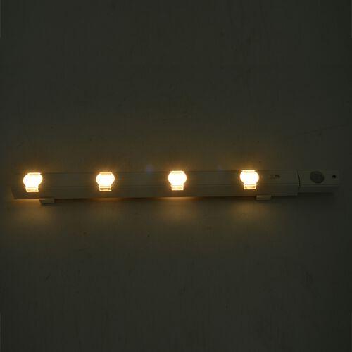White Colour Auto Sensing LED Cabinet