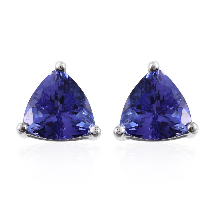 tanzanite cut trillion pendant products