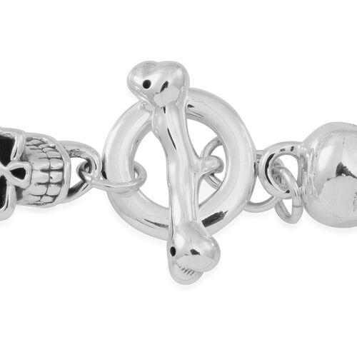 Statement Collection Sterling Silver Bracelet (Size 8), Silver wt 15.40 Gms.