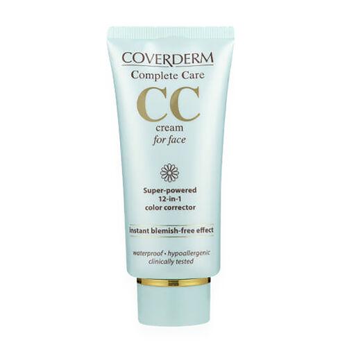 Coverderm Complete Care CC Cream for face Light Beige 40ml