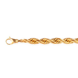 Surabaya Gold Collection 9K Yellow Gold Rope Necklace (Size 20), Gold wt 45.00 Gms.