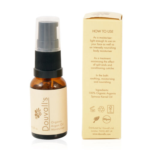 Alicia Douvall- Argan Oil Moisturiser - 15ml- Estimated delivery within 7 to 10 working days