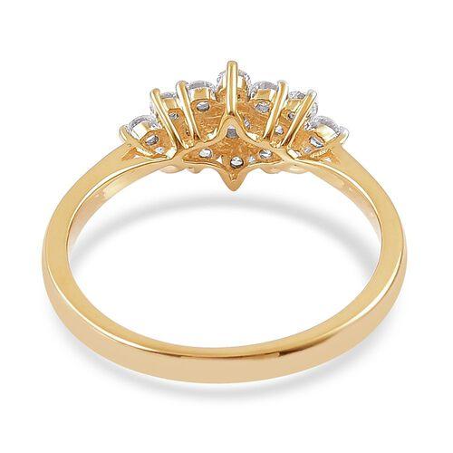 ILIANA 18K Gold IGI Certified Diamond (Rnd) (SI G-H) Ring 0.500 Ct.
