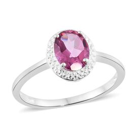 Limited Edition Martha Rocha Color Topaz (Ovl) Solitaire Ring in Sterling Silver 2.000 Ct.