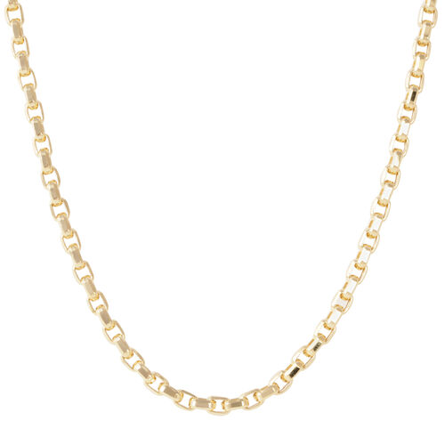 Limited Edition-JCK  Vegas Collection 9K Y Gold Box Necklace (Size 20), Gold wt 12.11 Gms.