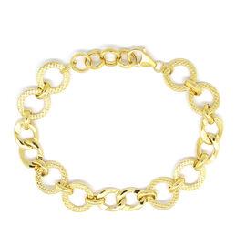 Limited Edition - 9K Y Gold Bracelet (Size 7.5 with Half inch Extender), Gold wt 7.09 Gms.