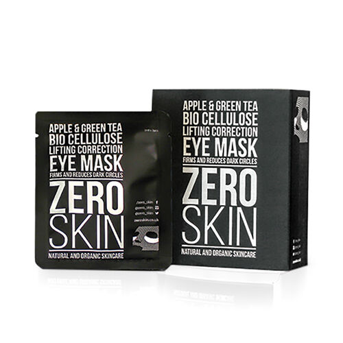 ZERO SKIN- Apple and Green Tea Cellulose Lifting Correction Eye Mask x 10- Estimated Delivery 5-7 working days