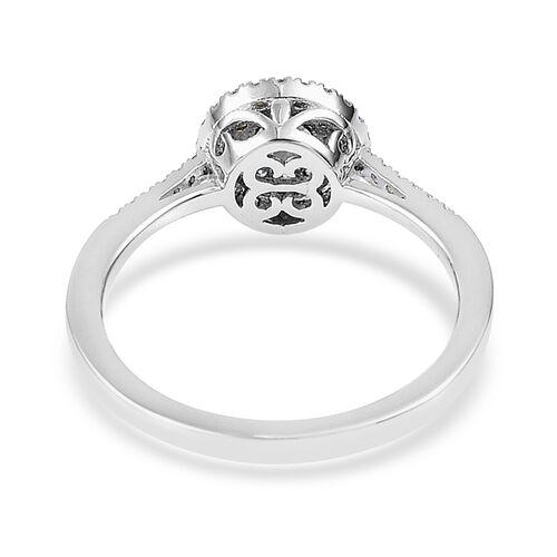 RHAPSODY 0.50 Carat Diamond (VS E-F) Ring in 950 Platinum