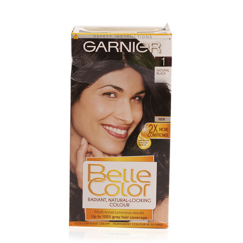 Garnier Belle Color 1 Natural Black Hair Colour