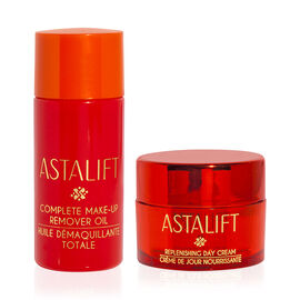 ASTALIFT - 15g Day Cream and 30ml Makeup remover oil