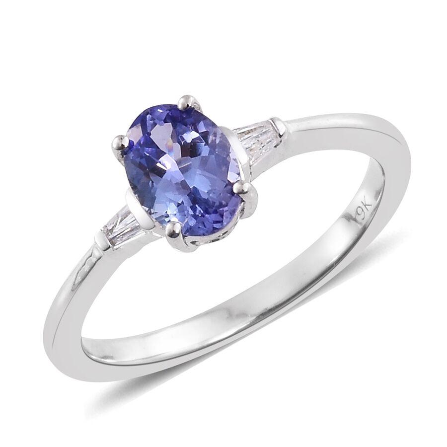 Tanzanite And Diamond Ring Australia