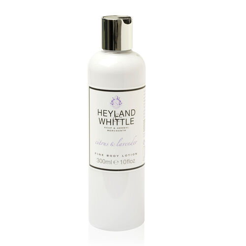 HEYLAND AND WHITTLE- Citrus and Lavender body scrub, body lotion