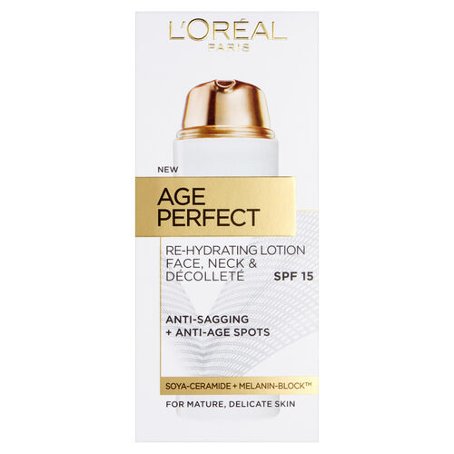 LOreal Paris Age Perfect Face, Neck & Decollete Lotion SPF15 50ml