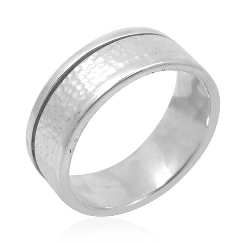 Royal Bali Collection Sterling Silver Band Ring, Silver wt 6.04 Gms.