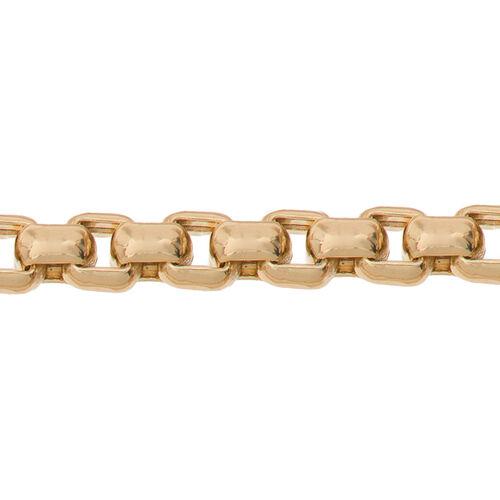 JCK Vegas Collection 9K Y Gold Box Chain (Size 20), Gold wt 9.50 Gms.