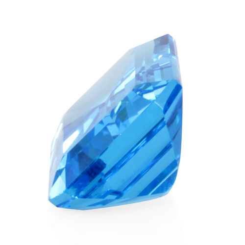 Electric Swiss Blue Topaz (Oct 20x15 Faceted 4A) 27.000 Cts