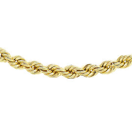 JCK Vegas Collection 9K Yellow Gold Rope Chain (Size 24), Gold wt. 5.75 Gms.