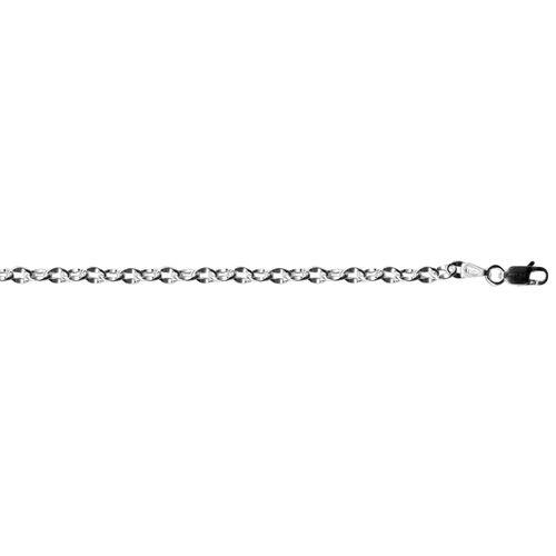 JCK Vegas Collection Sterling Silver Bracelet, Silver wt 3.33 Gms.