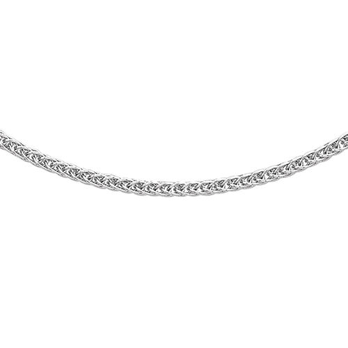 One Time Deal-Vicenza Collection RHAPSODY 950 Platinum Spiga Chain (Size 18). Platinum Wt 3.01 Gms