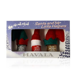 Mavala Santa little helpers Pure Diamond 213, Red River 286 & Gold Diamond 212 (5ml)