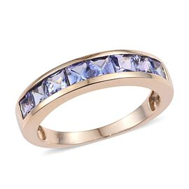 Tanzanite (1.85 Ct) 9K Y Gold Ring  1.850  Ct.