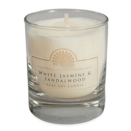 THE ENGLISH SOAP COMPANY- Pure Soy Wax Candle  White Jasmine and Sandalwood- Estimated delivery 5-7 working days