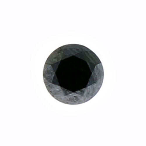Black Diamond (Rnd 5 mm Faceted) 0.50 Ct.