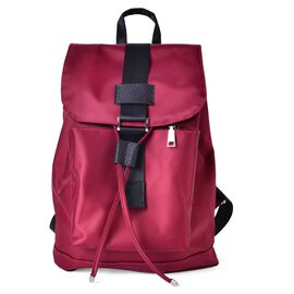 Designer Inspired Red and Black Colour Back Pack (Size 32x27x13 Cm)