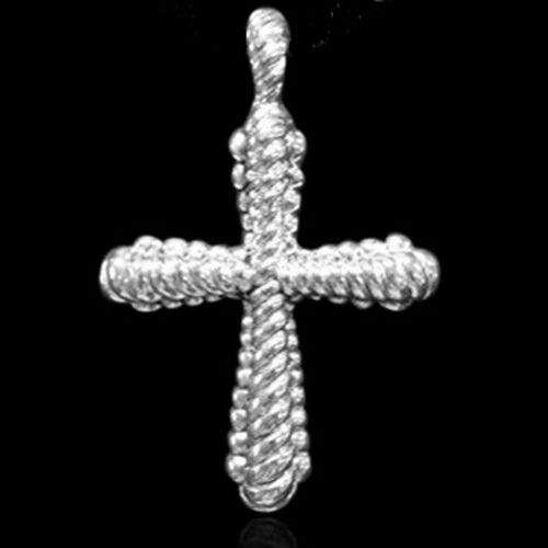 Thai Sterling Silver Cross Pendant, Silver wt 9.00 Gms.