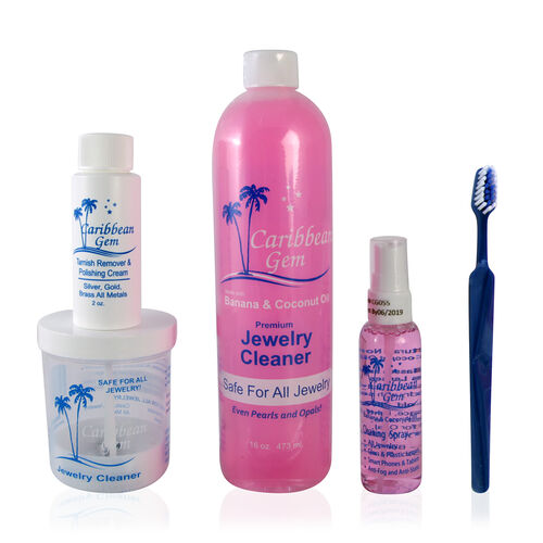 TJC Exclusive- Caribbean Gem Jewelry Cleaning Kit