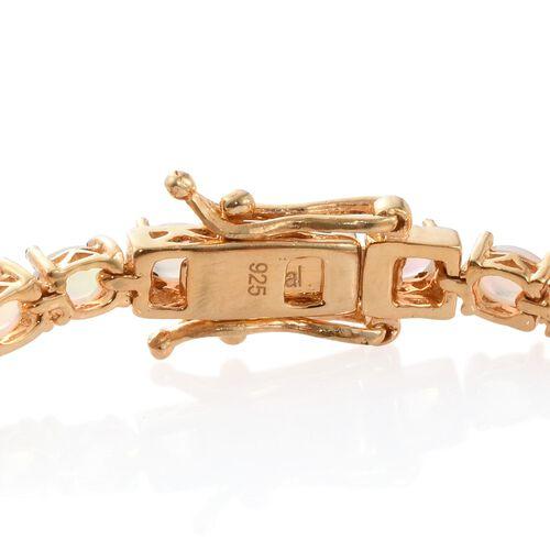 Ethiopian Welo Opal (Ovl) Bracelet (Size 6.5) in 14K Gold Overlay Sterling Silver 4.750 Ct.