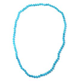 One Time Deal - Extremely Rare Colour AAA Russian Amazonite (Rnd 7-8mm) Beads Necklace (Size 30) 271.500 Ct.