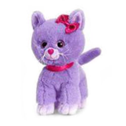 Keel Toys - Glitter Gems Kitten 25cm- Purple
