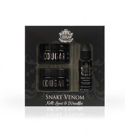 COUGAR- Snake Venom Serum Pack- Day Cream 50ml , Night Cream 50ml and Facial Serum 30ml