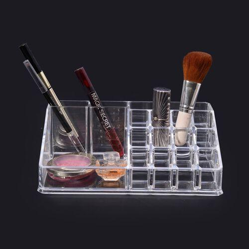 Transparent Cosmetics Organizer