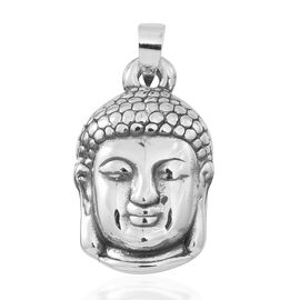 One Time Close Out Deal- Sterling Silver Lord Buddha Pendant