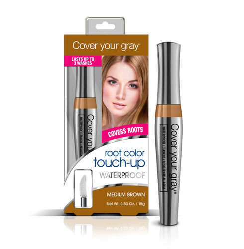 CYG Waterproof Root Touch-up -- Medium Brown (15 gm)