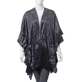 Black Colour Kimono (Size 90x85 Cm)