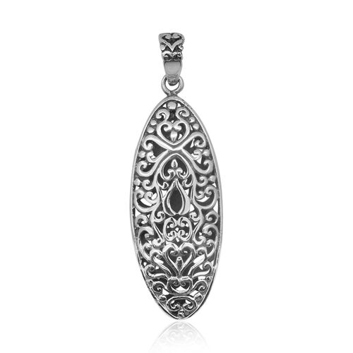 Royal Bali Collection Sterling Silver Pendant, Silver wt 4.75 Gms.