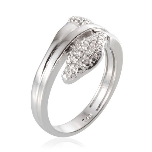 Diamond (Rnd) Ring in Platinum Bond 0.050 Ct.