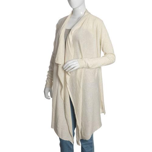 100% Cotton Off White Colour Apparel (Size 80x45 Cm)
