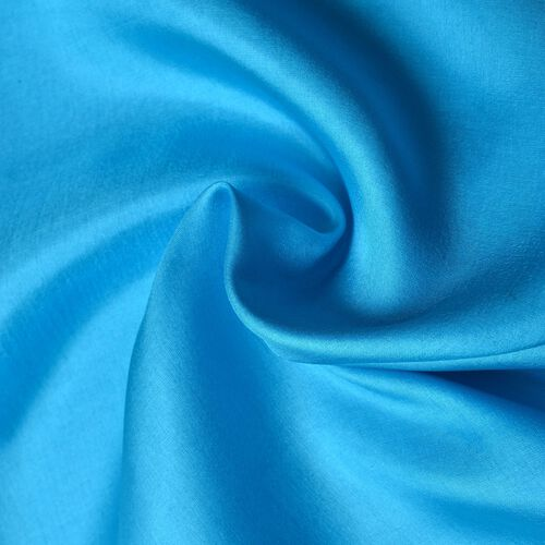 100% Mulberry Silk Turquoise Colour Scarf (Size 180x110 Cm)
