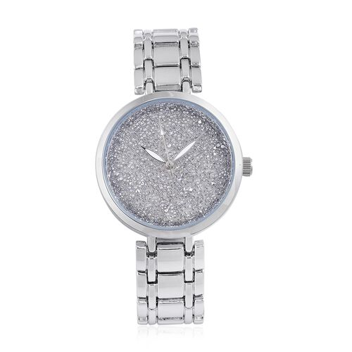 GENOA Swarovski Crystal Dial Japanese Movement Water Resistant Watch