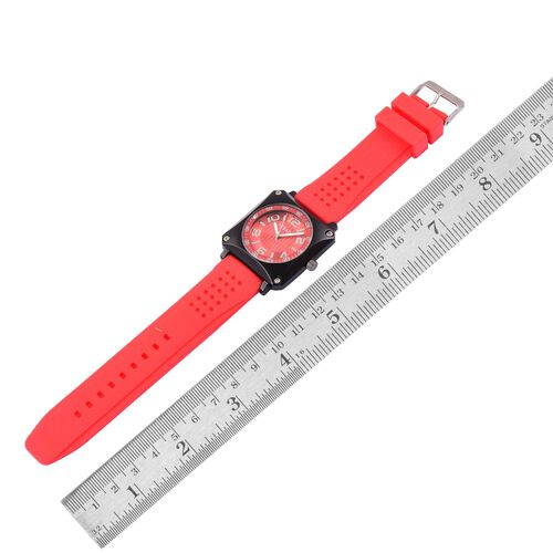 STRADA Japanese Movement Black Tone Watch