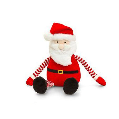Keel Toys - Red, White and Black Colour Santa Claus (Size 22 Cm)