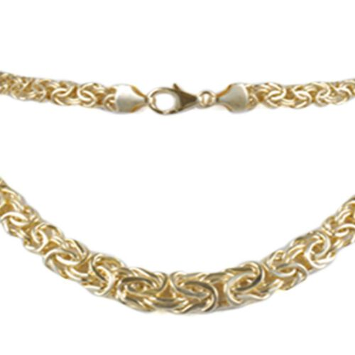 Limited Edition - JCK Vegas Collection - Italian Hand Made 9K Yellow Gold Graduated Byzantine Necklace (Size 20), Gold Wt. 13.00 Gms.