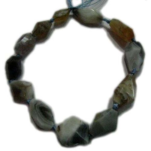 (Option 1) Botswana Agate Gemstone Chain (Beads) 300.00 Ct.