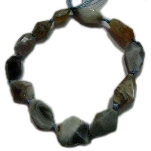 (Option 1) Botswana Agate Gemstone Chain (Beads) 300.00 Ct.
