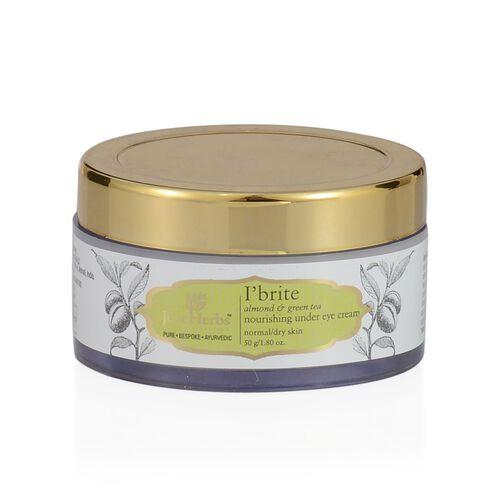 (Option 1) Just Herbs I brite Almond & Green Tea Eye Cream (50g)