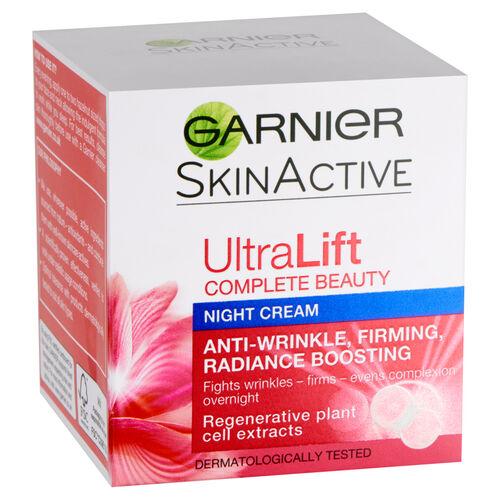 Garnier Ultralift Anti-Wrinkle Firming Night Cream 50ml